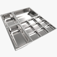 max food steel containers
