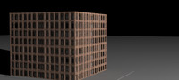 Low-poly Building 7