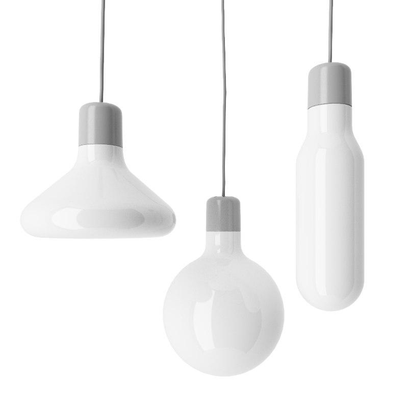 3d model form pendant light design house
