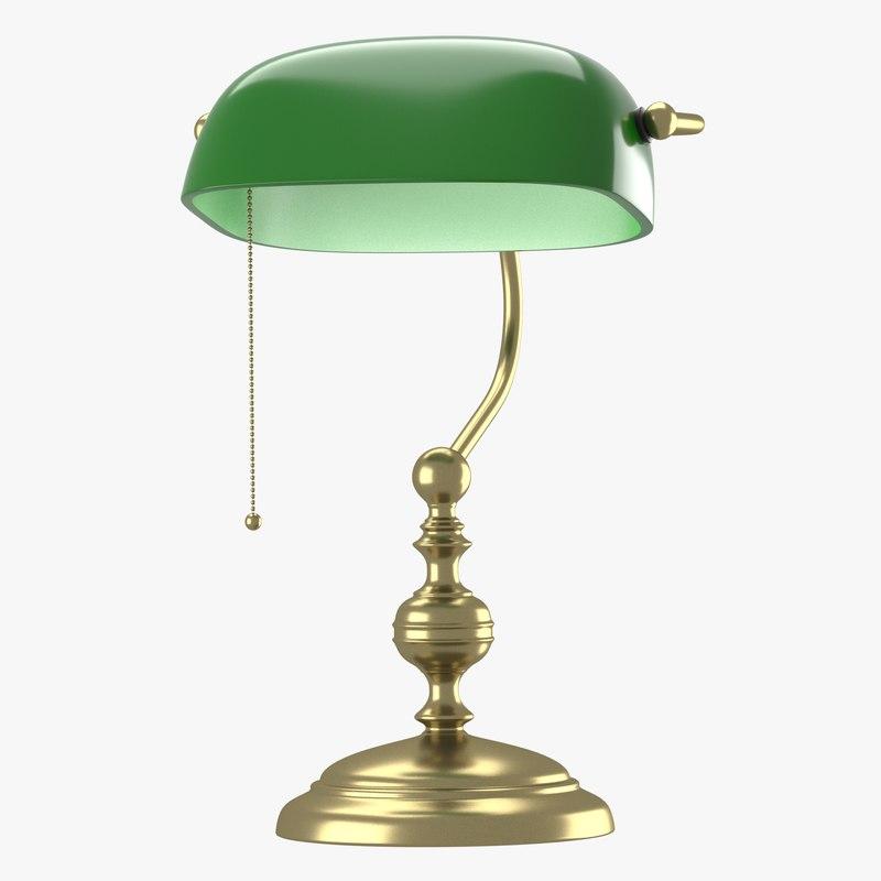 blend lamp green dome light