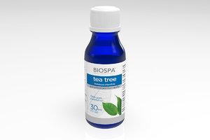 3d model tea tree essential oil