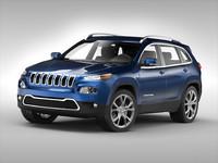 jeep car 3d model