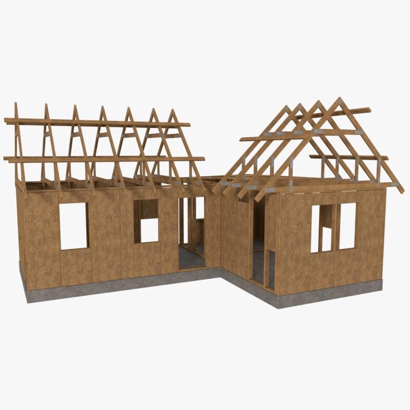 obj timber frame building construction