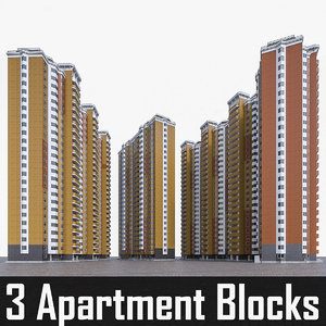 apartment block residential buildings max