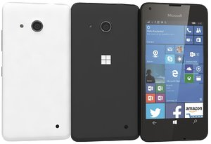 c4d microsoft lumia 550 black