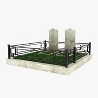 tomb 4 3d model