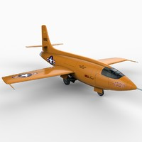 bell supersonic aircraft planes 3d x