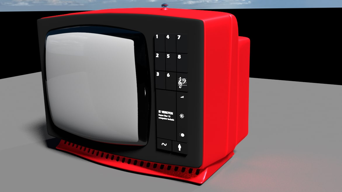 obj retro tv