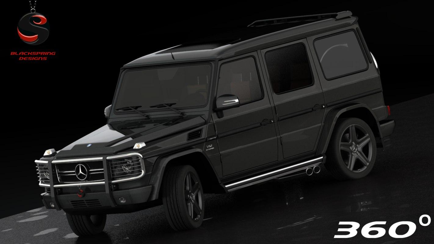 3ds max mercedes-benz g65 amg 2012