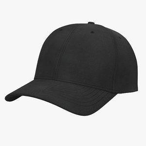 3d model baseball hat 3