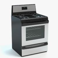 3d stove model