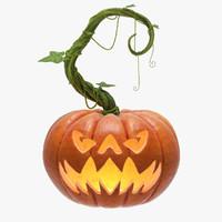 3d max halloween pumpkin 2