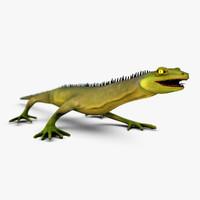 Lizard Rigged