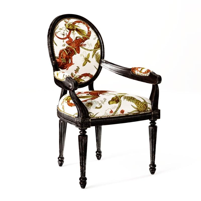 3d armchair durk model