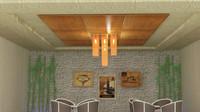 tavan lighting ceiling 3d max