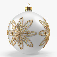 Christmas White Ball