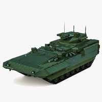 Russian Infantry Fighting Vehicle T-15 Armata