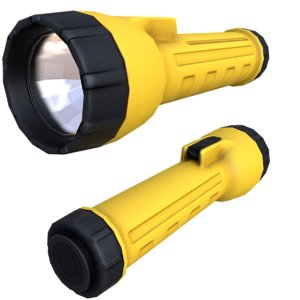 3d max flashlight 01