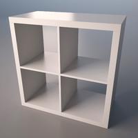 IKEA Kallax stand