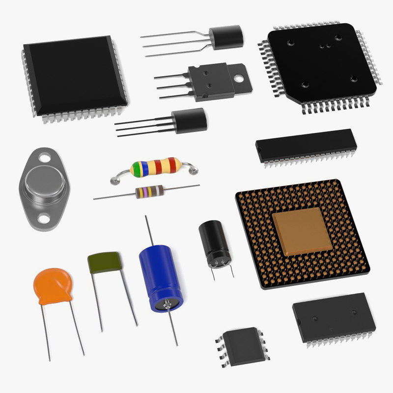 electronic parts 3ds