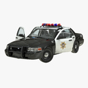 Ford Crown Victoria 3D models