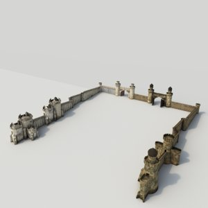 3d walls lost city 2 model