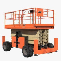 Engine Powered Scissor Lift JLG 5394RT