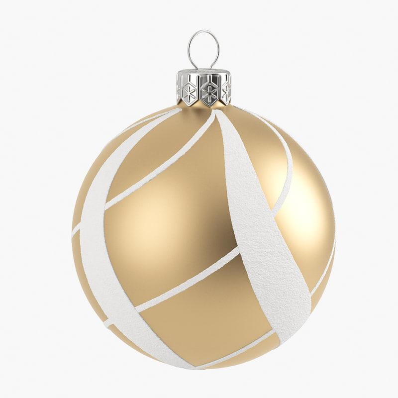 3d obj christmas ball