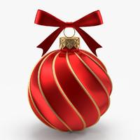 Christmas Red Ball 2