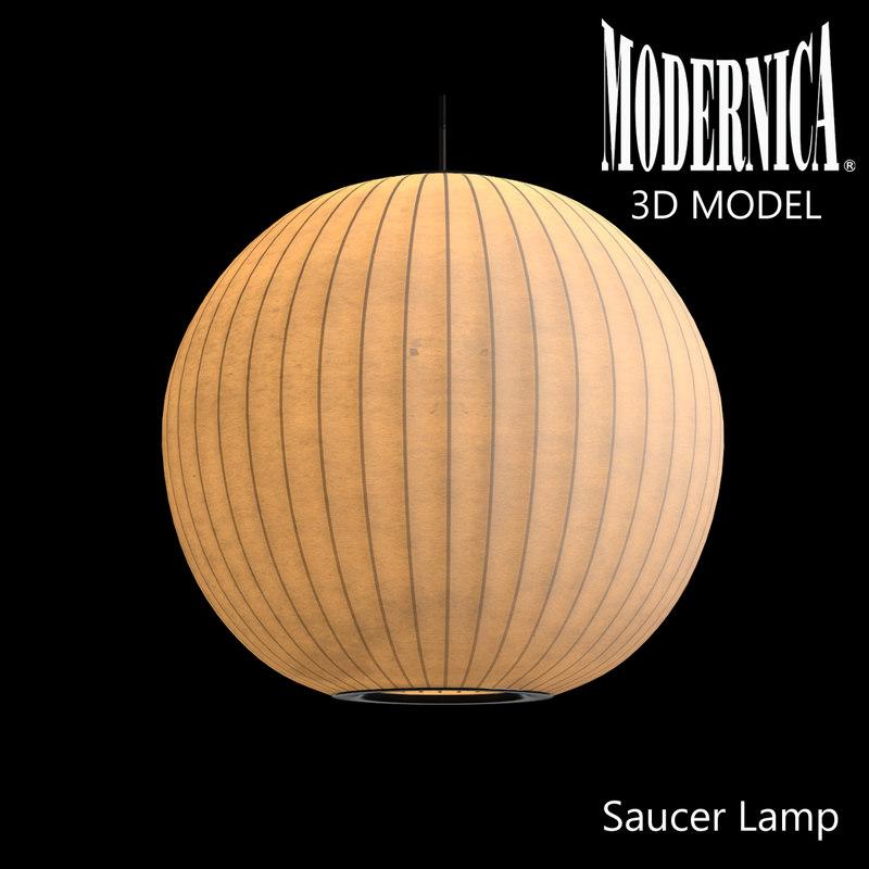modernica ball lamp 3d max