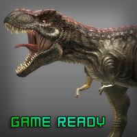 3d t-rex games