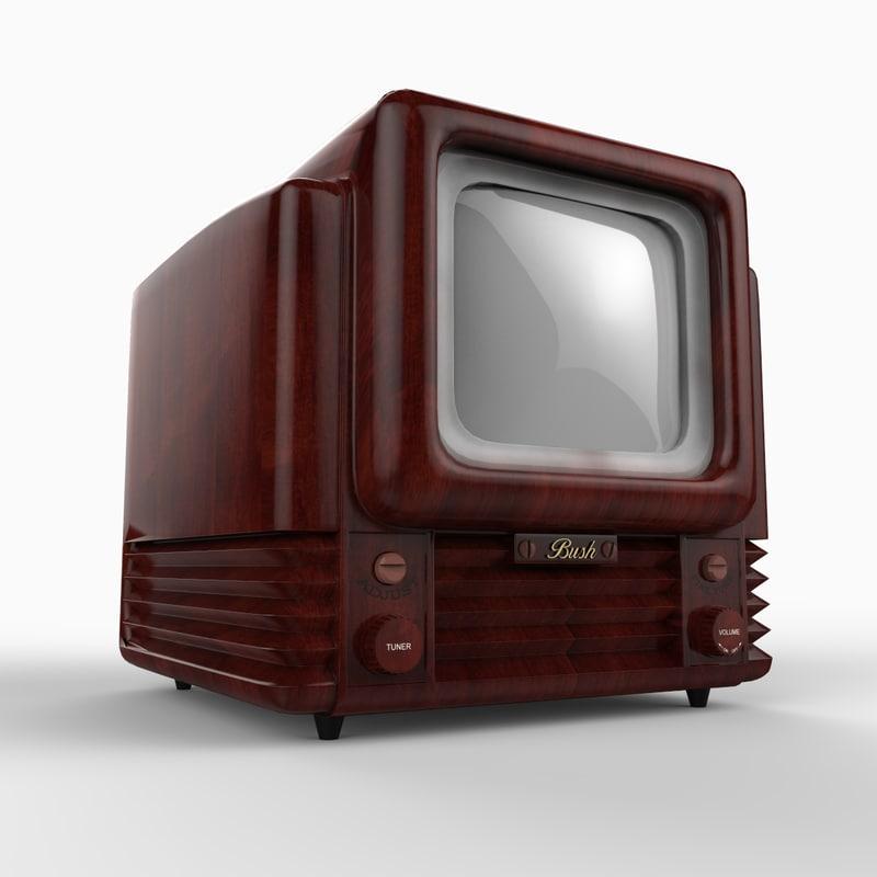 bush tv 12 9 3d max