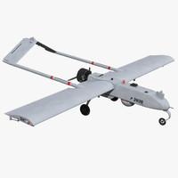 aai rq-7 shadow uav 3ds