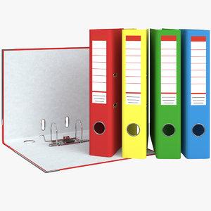 3d model folder registrar