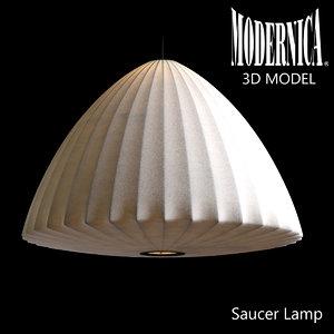 modernica bell lamp 3d model