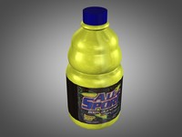 sport bottle c4d
