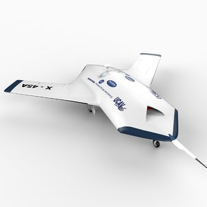 3d x-45a drone
