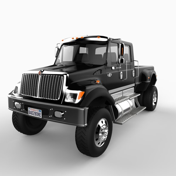 2007 international cxt truck vehicle 3d model
