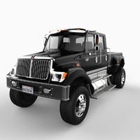 2007 international cxt truck vehicle 3d model