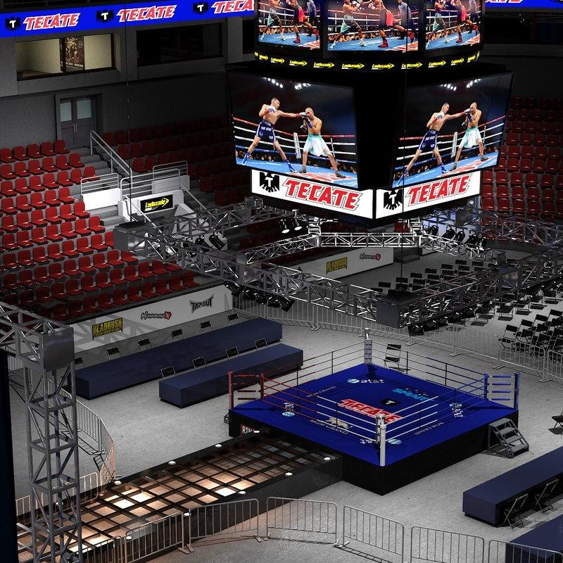 max boxing arena