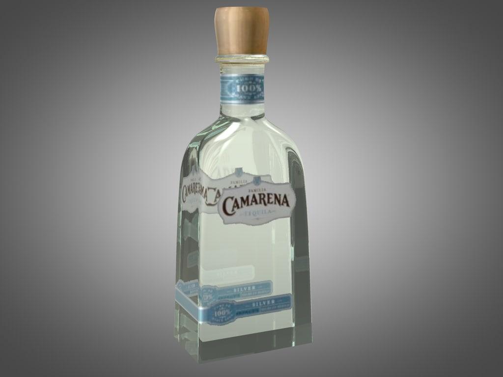 3d bottle camarena