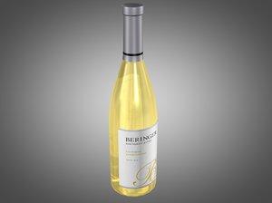 bottle beringer chardonnay x