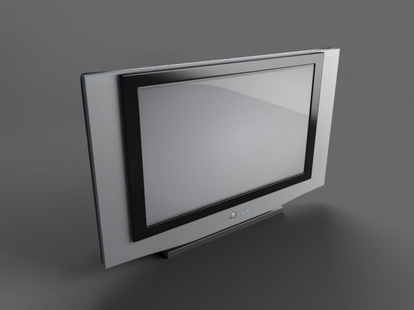 3ds max hd slim tv