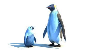 emperor penguin family max