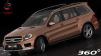 3d model mercedes-benz gl63 amg