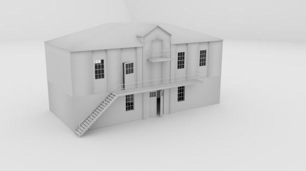 3d building 123 psychiatric model