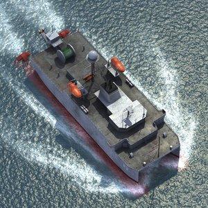 3d t-agos 23 navy model