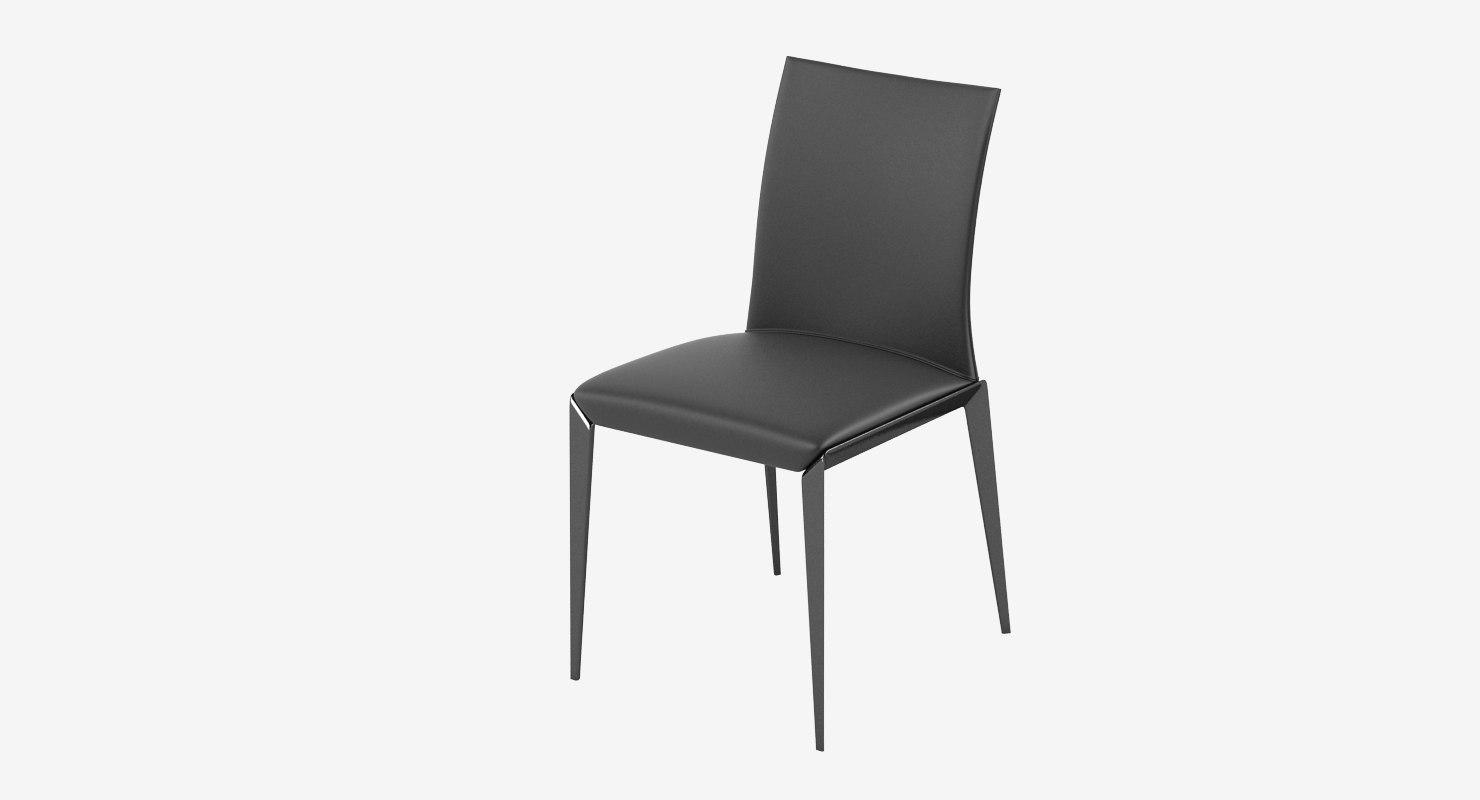 3d model molteni dart chair