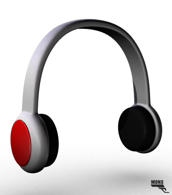 free ma model 2016 headphones cartoon
