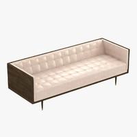 3d model sofa wooden box
